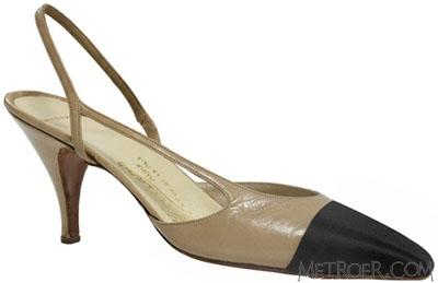chanel双色运动鞋